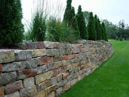 block stone wall color pattern