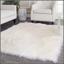 fake sheepskin rug canada