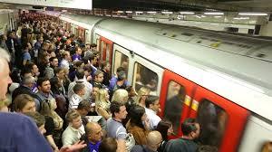 crowded subway train station. Wonderful Crowded Crowded London Underground Subway Station People Boarding Train Timelapse  Stock Video Footage  Videoblocks Inside Subway Train Station U