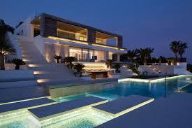 view modern house lights. Plain Lights Pool Lighting And View Modern House Lights T