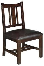 artisan side chair 38hx19w macintosh oak