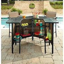 outdoor bar stools cheap. Garden Oasis Harrison 5 Pc. Outdoor Bar Set *Limited Availability 2 Stools Cheap T