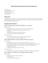 Clerical Resume New Objective For Clerical Resume Sample Format Good Resume