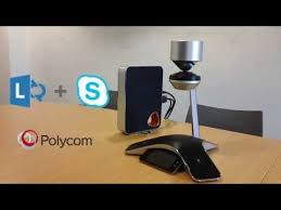 polycom round table confernce with lync and skype for business