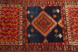 hand woven moroccan vintage tribal african rug for