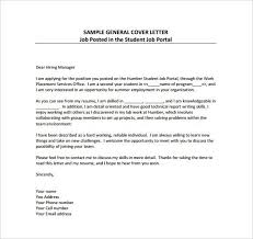 Employment Cover Letter Template 8 Free Word Pdf Documents