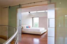 stylish sliding glass door designs 40 modern images minimalist bedroom with translucent sliding glass