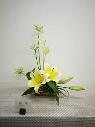 夏のお花でフリースタイルブーケのレッスン