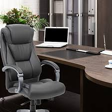 sleek office chairs. Genesis Designs High Back Office Chair - Sleek, Dual Wheel Casters, Leather Plus, Padded Synchronized Armrests With Adjustable Back, Executive, Sleek Chairs