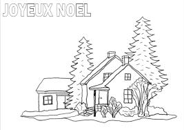 Nature Scenery Paysage De Noel A Imprimer