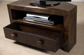 small corner tv cabinet. Dakota Dark Mango Small Corner TV Stand With Tv Cabinet