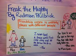 the best freak the mighty ideas pearson using a poster as a pre write for a literary essay she started by
