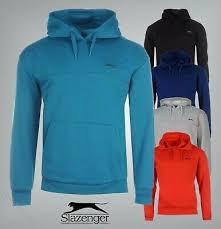 Mens Slazenger Long Sleeves Fleece <b>Hoody</b> Sizes S M L XL XXL ...
