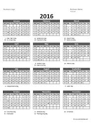 Excel Yearly Calendar Template 2014 Choice Image - Avery Business ...