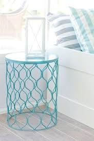 patio end tables metal impressive outdoor patio side tables small metal pertaining to table decorations garden