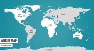 Powerpoint World High Detail World Map For Powerpoint