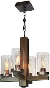 artcraft ac10544bu jasper park contemporary bronze mini hanging chandelier loading zoom