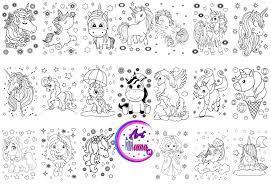 Foremka jednorożec do druku : Kolorowanka Dla Dzieci Pokoloruj Jednorozca Pdf Unicorn Do Druku Kreatywna Zabawa Artmama Pl Kreatywny Blog