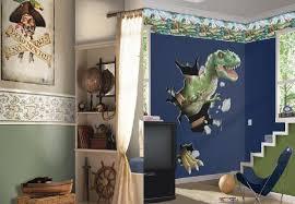 boy bedroom decorating ideas. dino wallpaper for cool boy bedroom decorating ideas o