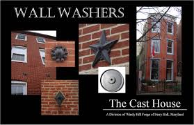 Pattress Plate Design Wall Washers Windy Hill Forge The Cast House