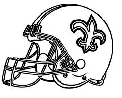 New Orleans Saints Coloring Sheets Happy Coloring