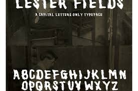 Lester Fields Display Typeface - GFX4Arab Free fonts,Vector,Photos & PSD  fils