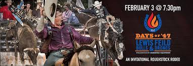 Days of '47 Lewis Field Bulls & Broncs, Maverik Center at The Maverik  Center, West Valley City UT, Festivals & Special Events
