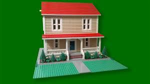 Real Life Lego House Custom Build Lego Simple Farm House Cc Youtube