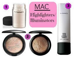 mac best illuminators highlighters