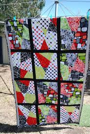 35 best Stack and slash quilts images on Pinterest | Patchwork ... & The first stack and slash quilt I have made loved the pop of the pattern and Adamdwight.com