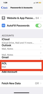 How To Update An Email Password On Iphone Ipad Osxdaily