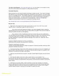 Administrative Assistant Objective Statement Business Letters