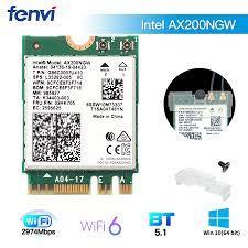 3000Mbps Intel AX200 WiFi 6 Dual Band 2.4G/5Ghz 802.11AX For Bluetooth 5.1  MU MIMO NGFF M.2 Wlan WiFi Card Laptop PC Windows 10|atheros 9285|wireless  cardhalf mini pci-e wifi - AliExpress