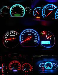 Interior Dash Lights 1pcs T5 1 Cob 18 74 Led Interior Wedge Bulb Dashboard Gauge Instrument Lights Car Automobile Door Gauge Reading License Lamp 12v