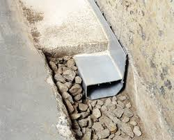 diy exterior drain tile. clogged drain tile waterguard interior basement pipe diy exterior