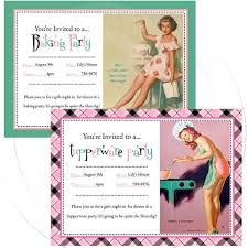 Tupperware Party Invitations Printable Personalize Pinup Invitation Tupperware Party Etsy