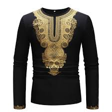 African Print Men S Shirt Designs A Cool New 2019 Mens Shirt With Simple African Print Sleeves