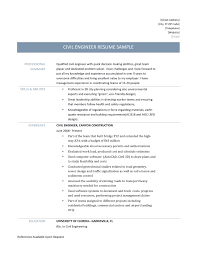 civil engineer resume samples tips and templates civil engineer resume template