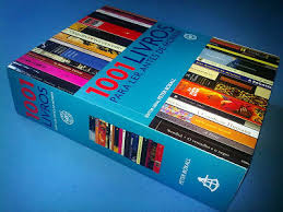 Resultado de imagem para livros com listas de livros