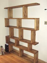 ... Free Standing Bookshelves Tier Shelving Units With Stainless Steel  Accent Cabinet Ladder Shelves For ...