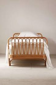 rattan twin bed. Interesting Twin Canoga Rattan Bed And Twin