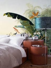 D Coration Chambre Naturelle Ou Tropicale T Te De Lit Chambres