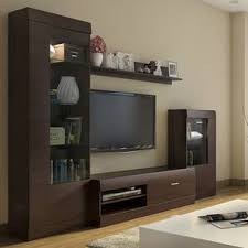 Image Stand Ferdinand Entertainment Unit Set dark Oak Finish By Urban Ladder Urban Ladder Tv Unit Stand Cabinet Designs Buy Tv Units Stands Cabinets