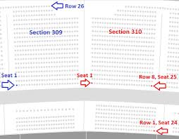 Gillette Stadium Seating Chart With Seat Numbers