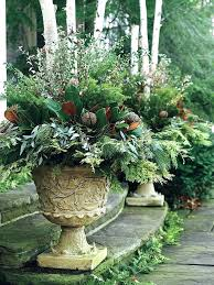 flower pot ideas for winter fall container planting ideas garden large latest planter wooden top covers