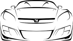 cadillac logo outline. car outline pictures cadillac logo r