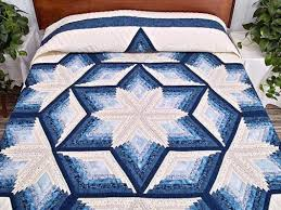 Amish Quilts Patterns | Lcd-enclosure.us & Photo 1 of 23 Offset Log Cabin Quilt Pattern | Diamond Star Log Cabin Quilt  -- Outstanding Cleverly Made Adamdwight.com