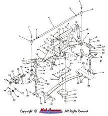 1984 1991 club car ds gas club car parts & accessories Club Car Lighting Diagram front suspension assy club car lighting wiring diagram