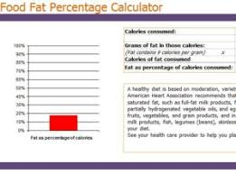 food percentage calculator food fat calculator myexceltemplates fat percentage calculator