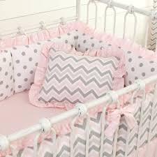 decoration pink chevron nursery bedding gold rush baby light and